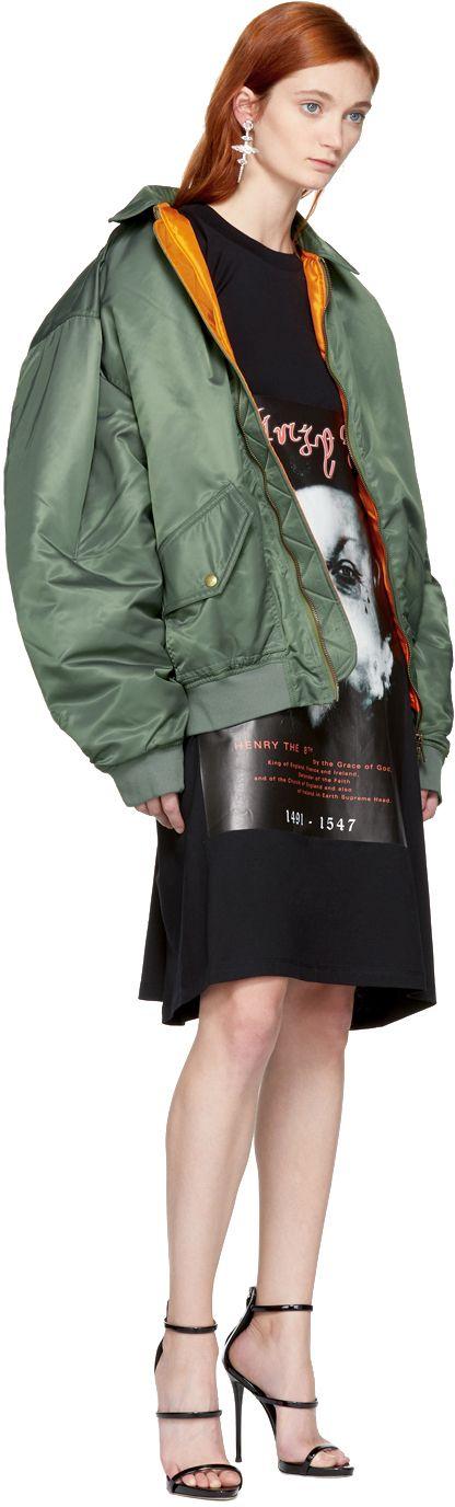 Y/Project - Khaki Nylon Bomber Jacket