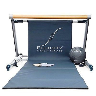 Fluidity Bar fitness system ballet barre as on TV 3 DVDs Ball Bands NEW rrp$350 - http://hooligansentertainment.com/2014/02/14/fluidity-bar-fitness-system-ballet-barre-as-on-tv-3-dvds-ball-bands-new-rrp350/