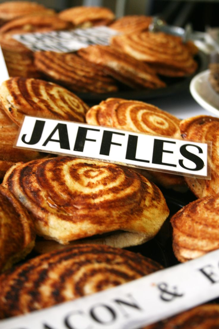 Jan and Marie makes about 10 different Jaffles for every Market! Whether you like Kerrie mince or bacon and egg, chicken mayo or tomato and cheese - you'll find one you love at the market!