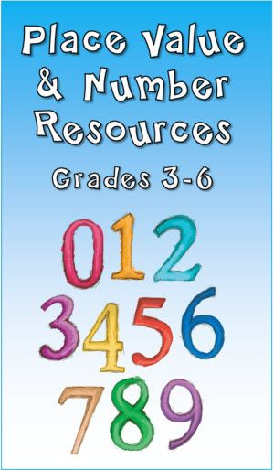 Place Value and Number Resources in Laura Candler's File Cabinet