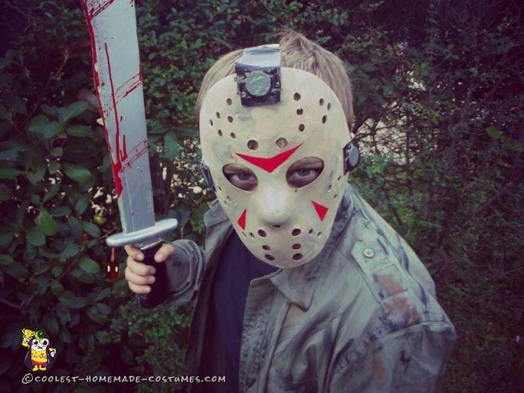 Easy Childs DIY Jason Voorhees Costume Halloween