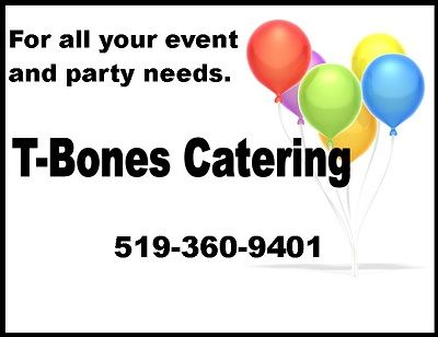 Yes, we cater. https://www.facebook.com/TBonesGrillHouse