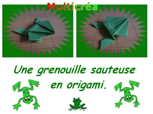 best 25 origami grenouille ideas on pinterest. Black Bedroom Furniture Sets. Home Design Ideas