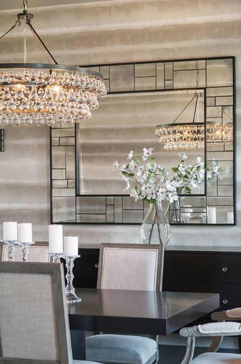 Atmosphere Interior Design Hospital Home Lottery Fall 2012 #diningroom  #mirror