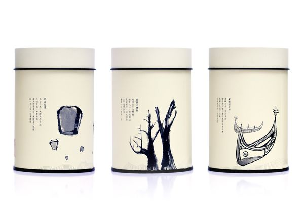 茶道理 on Packaging Design Served. Tea I think