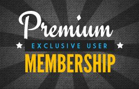 Premium Membership – Web Banners PSD Collection