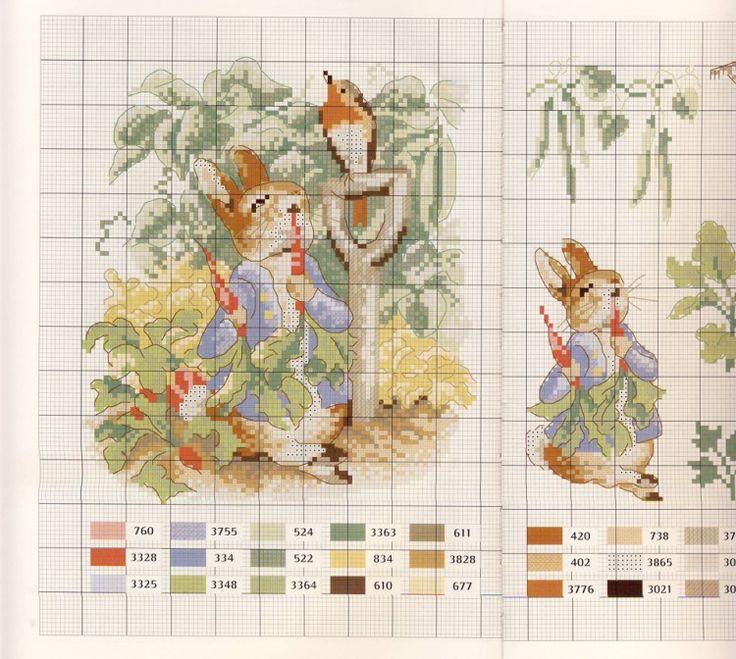Gallery.ru / Фото #4 - Veronique Enginger. Le monde de Beatrix Potter - CrossStich