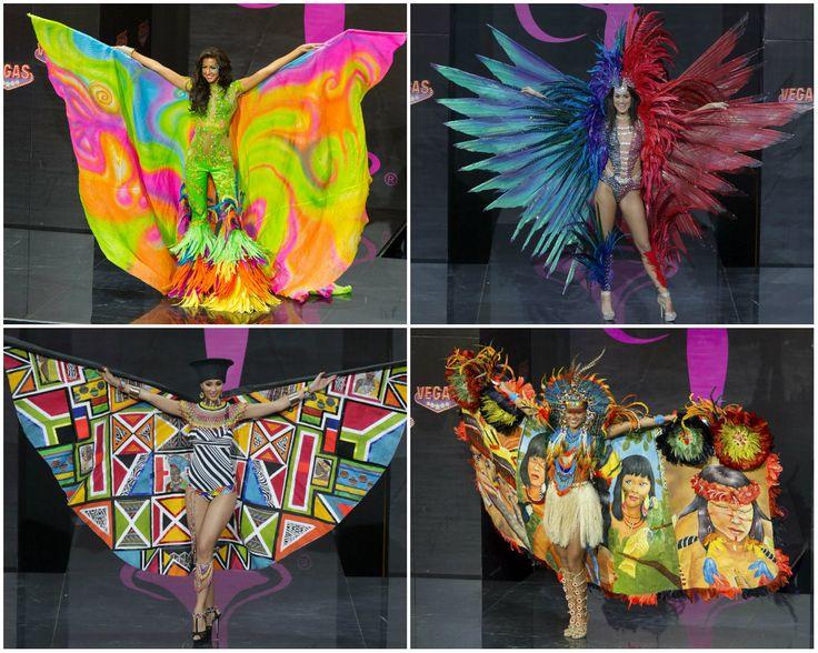 Canditades de #Jamaica (superior izq), #TrinidadYTobago (superior der.), #Sudafrica (inferior izq.) y #Brasil, para el concurso #MisUniverso2013. Siga las noticias sobre el concurso en: http://www.eluniverso.com/tema/miss-universo  Fotos: Agencias