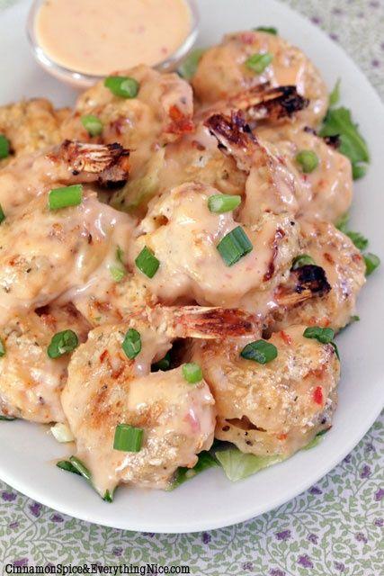 Bang Bang Shrimp - a copycat restaurant recipe (Bonefish Grill)