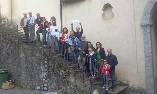 #invasionidigitali Palazzo Rinascimentale Aieta #invasioneCompiuta
