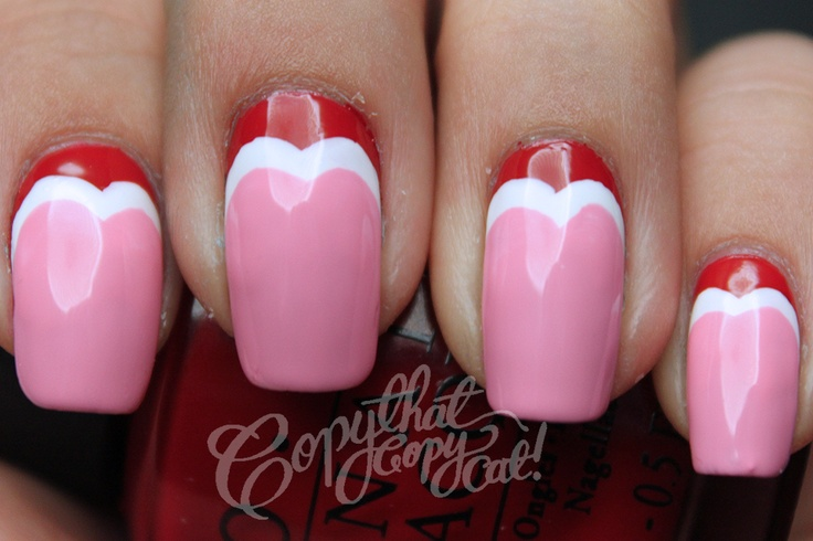 Copy That, Copy Cat: Valentines Day Heart Ruffian Nails