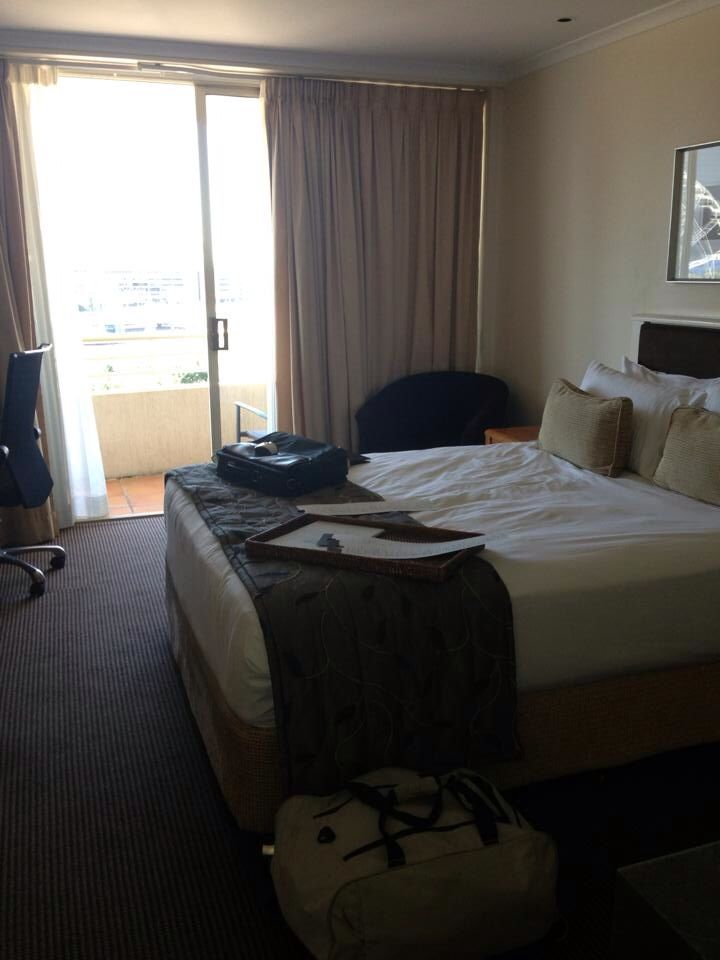 Ridges hotel Southbank Brisbane