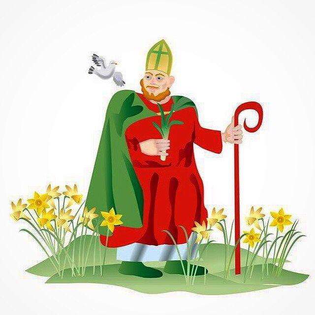St.David's day (День Святого Патрика)                          Когда: 1 марта                   Где: Уэльс, юго-запад Великобритании.               Этот праздник очень важен для жителей Уэльса и празднуется, как патриотический и культурный фестиваль!  Из истории: В 640 г. нашей эры между валлийцами под предводительством короля Уэльса Cadwallader и саксами произошла битва, во время которой Святой Дэвид предложил валлийцами прикрепить к шляпам стебли лука-порея, чтобы отличить себя от врагов…