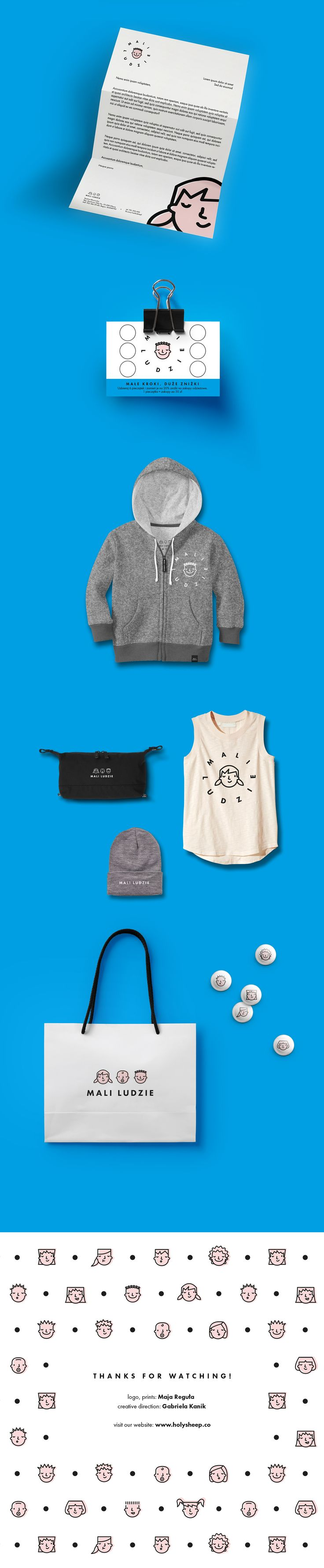 Mali Ludzie / Little People — clothes for kids on Behance