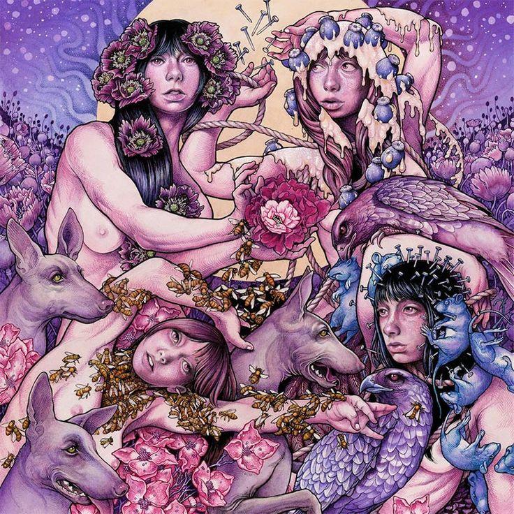 Baroness – Purple (Rostrum Records) Artwork by John Dyer Baizley
