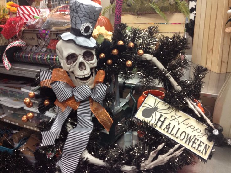 this is max hello max by renee - Michaels Halloween Decor