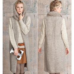 Vogue Knitting Cowl Pattern : TEI-SET COWL, SWEATER & VEST {vogue knitting pattern} Knitting Pinter...