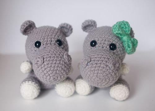 Ravelry: Crochet Hippo pattern by Theresa's Crochet Shop