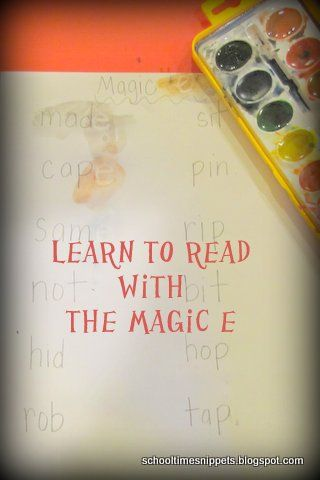 Learn to Read with The Magic E