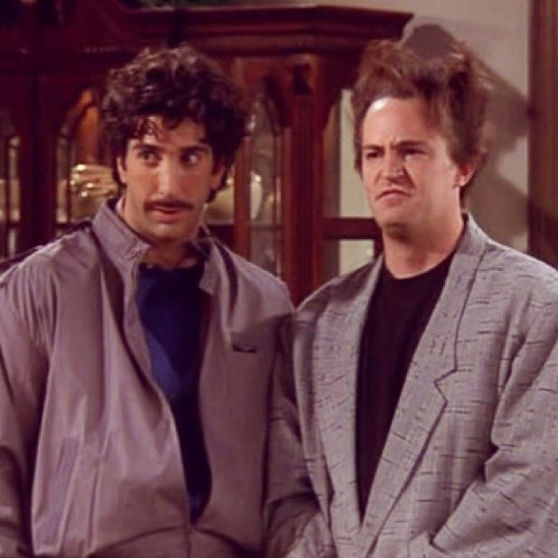 Ross and Chandler Friends tv show Funny quotes