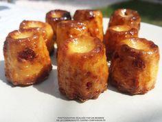 Minis cannelés chorizo et gruyère (ElodieN) - Recette Cuisine Companion