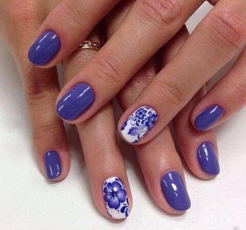nail art 1074  lilac nails elegant nails nail art designs