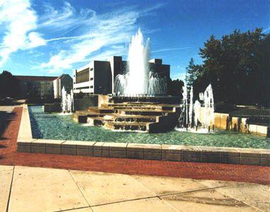 Missouri State University John Q. Hammons Fountain Springfield, MO