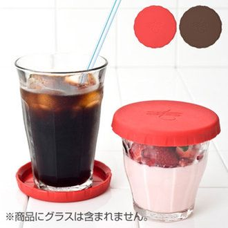 livingut | Rakuten Global Market: Glass Cap & coaster Picardie glass for Silicon ( the beverage caps Cup lid lid lid duralex DURALEX Picardie )