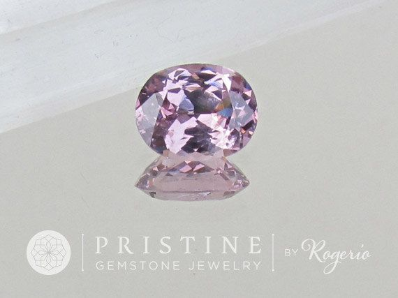 Lavender Purple Spinel 12 x 8.8 MM Oval Over 4 Carats