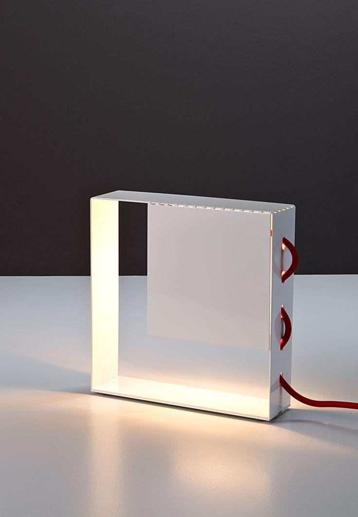 """Square"", white   Caoscreo http://www.caos-shop.it/commerce/index.asp?idsz=321"