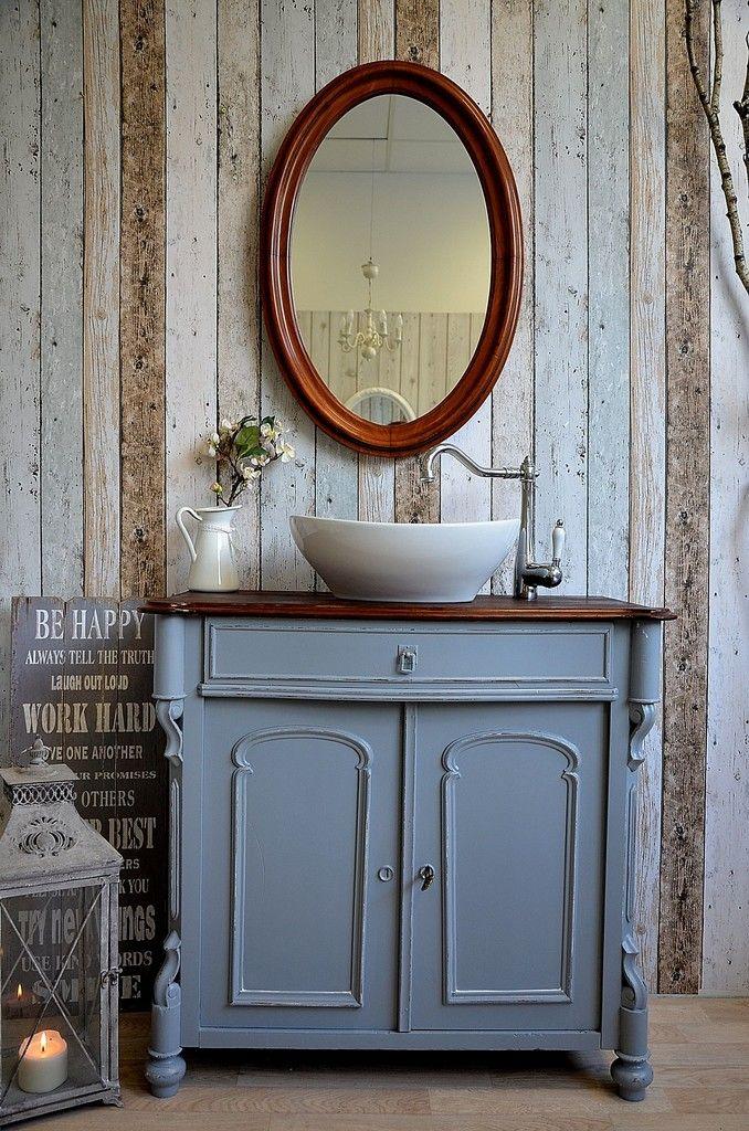 73 besten Badezimmer Bilder auf Pinterest Badmöbel landhaus - waschbecken für küche