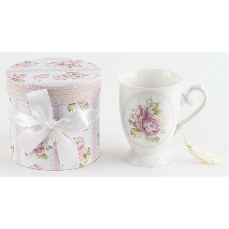 gorgeous porcelain #mug with gift box www.inart.com