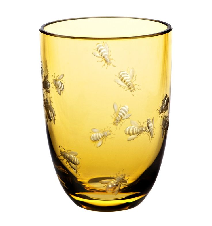 Perfect for getting stung in the face at an event because you couldn't tell the decorative bees from the real ones stealing your sweet, sweet beverage.