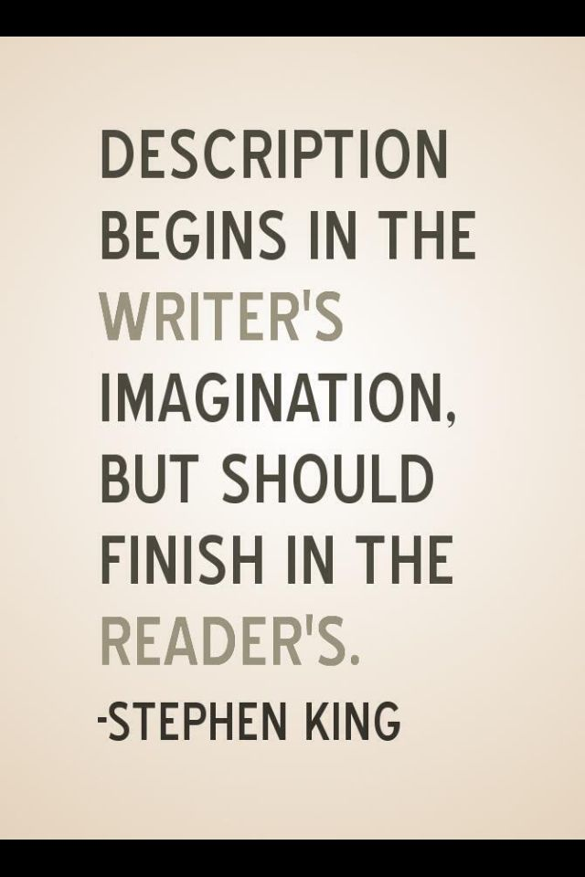stephen king writing tips Welcome welcome to the home for writers we talk about important matters for writers, news affecting writers, and the finer aspects of the writing craft.