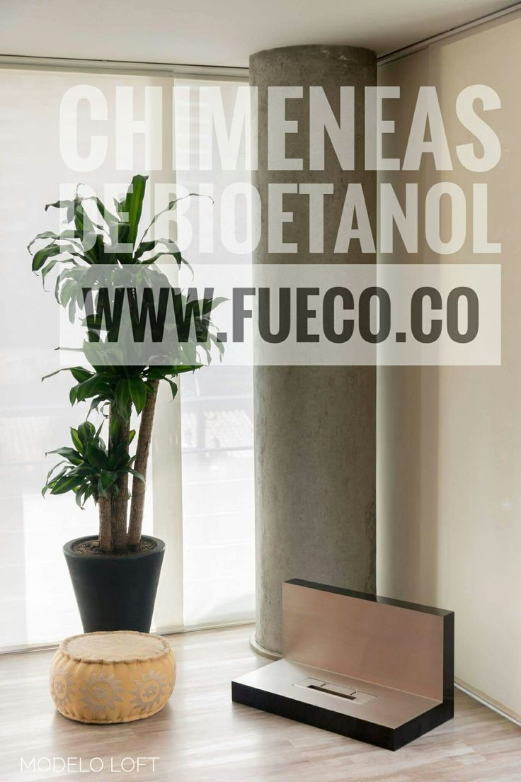 """Modelo """"Loft"""" de Chimeneas  de bioetanol #Fueco"""