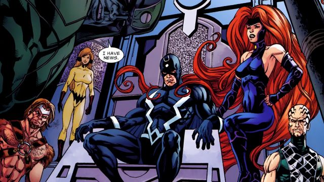 Marvels Inhumans Synopsis Released Online   Marvels Inhumanssynopsis released online  Marvel Entertainment and ABC have officially released the synopsis for the upcoming Marvels Inhumans which reads as follows:  After the Royal Family of Inhumans is splintered by a military coup they barely escape to Hawaii where their surprising interactions with the lush world and humanity around them may prove to not only save them but Earth itself.  The cast for the series includes Anson Mount (Hell on…