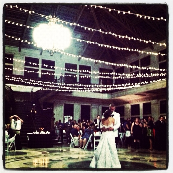 Picture From Our Wedding At Ellicott Square Building In Buffalo