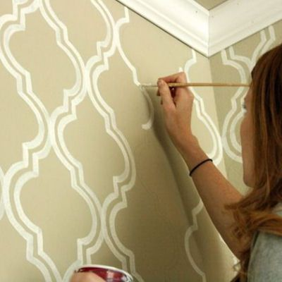 794 best painting tips hints and wall stripes tips images on ...