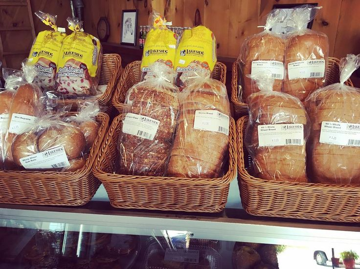 Fresh bread is on the shelves. We've partnered with Lakeside Bakery  stop in for fresh bread pies cookies and other yummy treats! #teamleeandmarias #supportlocal