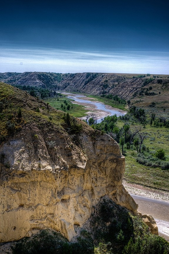 Theodore Roosevelt National Park in Medora, North Dakota