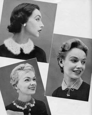 lady_n_thread - Free Vintage Patterns - Crochet Collars