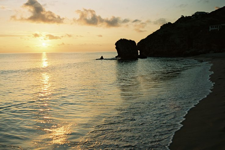 There's nothing quite like enjoying a sunset at South Friars Bay, St. Kitts