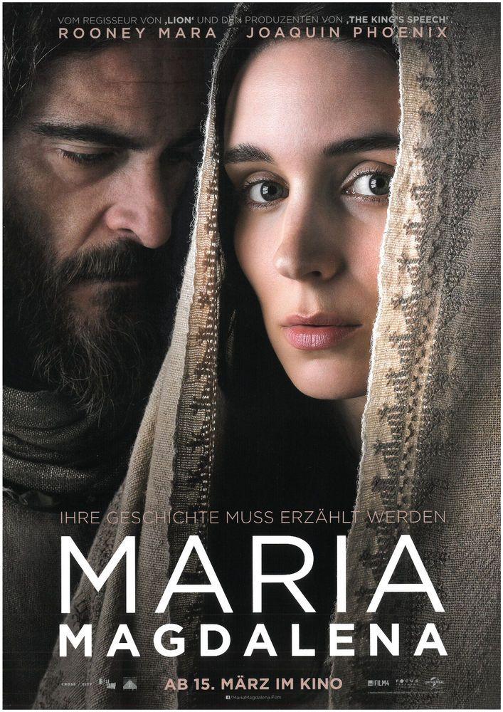 MARIA MAGDALENA - ROONEY MARA - JOAQUIN PHOENIX - 2018 - ORIG. FILMPOSTER A4