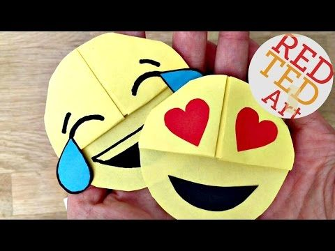 Easy Emoji Bookmark DIY - Red Ted Art's Blog