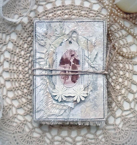Vintage Junk Journal a6 Art Journal Victorian Handmade