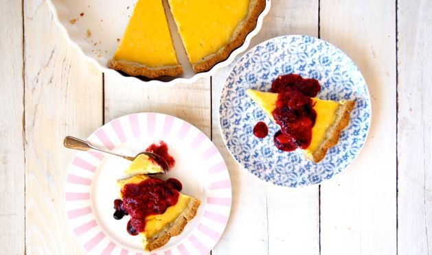 Paleo Lemon Tart | Sugar Free, Grain Free, Low Fructose.