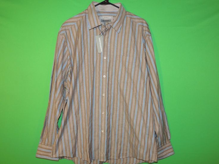 #NWT #Johnston #FREEShipping #Striped #Mens #ButtonFront