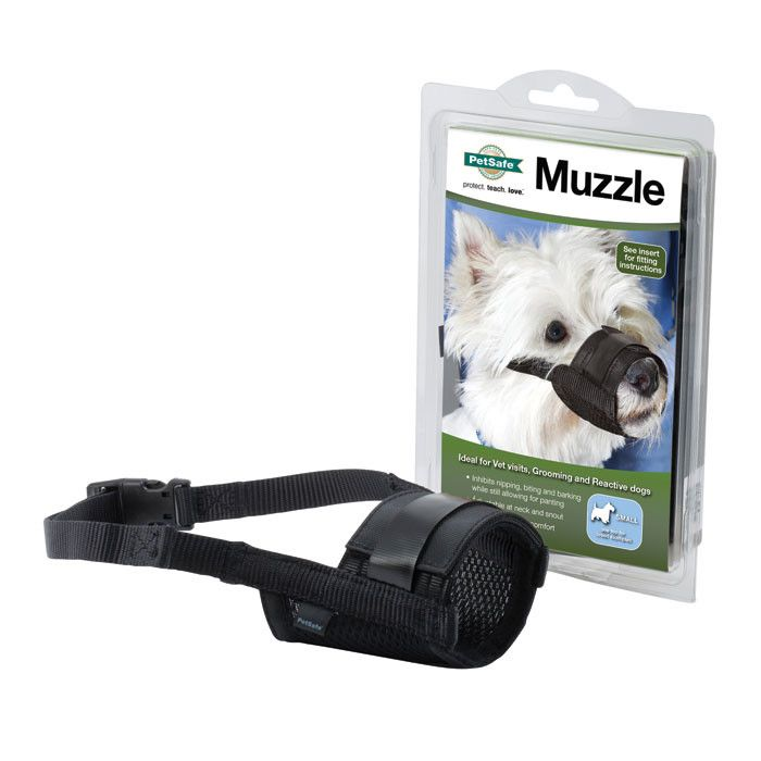 PetSafe Muzzle for Dogs (Small) Black