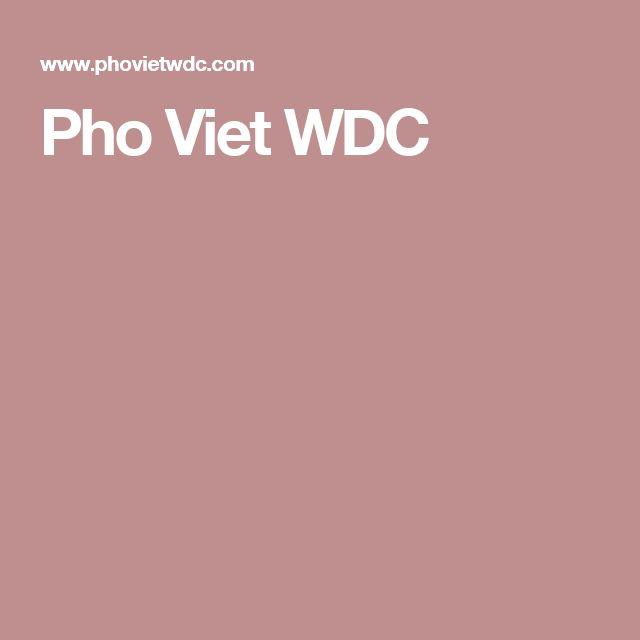 Pho Viet WDC