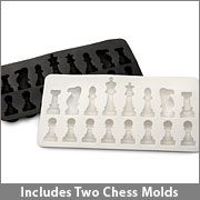 Ice Chess: Chess Ice, Ice Cubes, Chess Pieces, Chess Mold, Ice Chess, Chess Sets